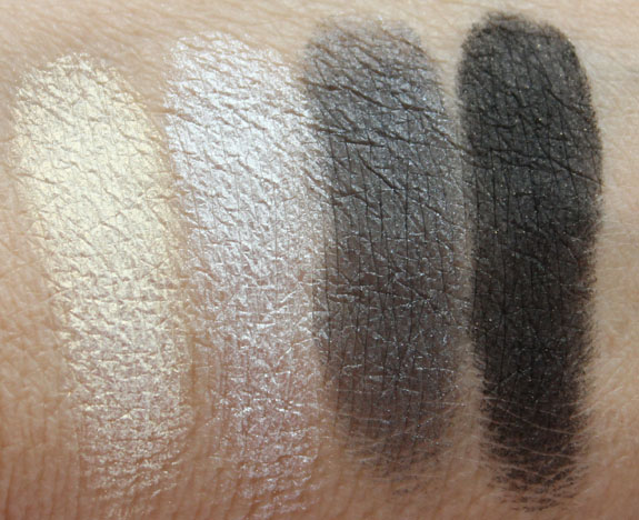 LORAC Dramatic Eye Shadow Palette Swatches