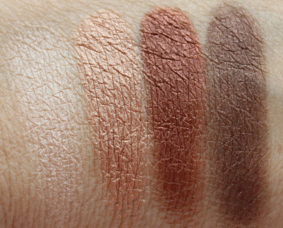 LORAC Natural Eye Shadow Palette Swatches