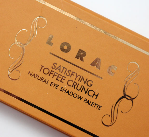 LORAC Natural Eye Shadow Palette