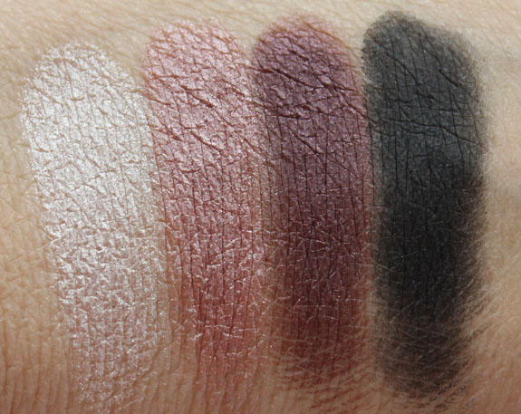 LORAC Plum Eye Shadow Palette Swatches