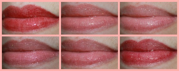 LORAC Sweet Temptations Lip Gloss Collection Collage