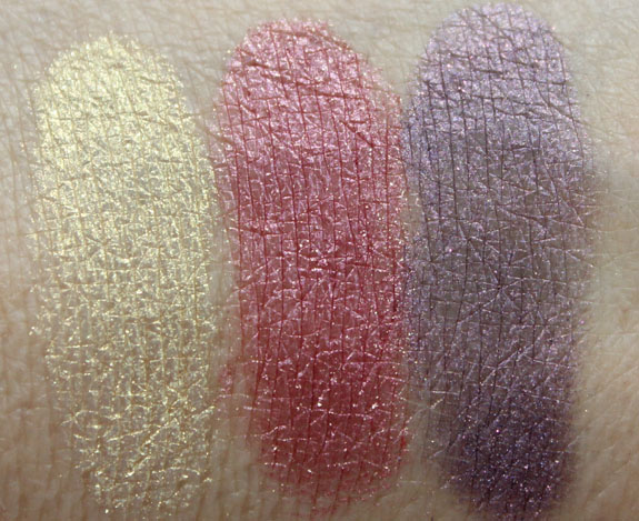 Naked Cosmetics Desert Sun Swatches 2