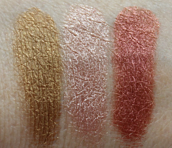 Naked Cosmetics Desert Sun Swatches