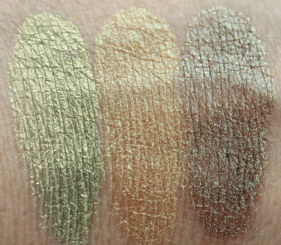 Naked Cosmetics Harvest Moon Swatches 2