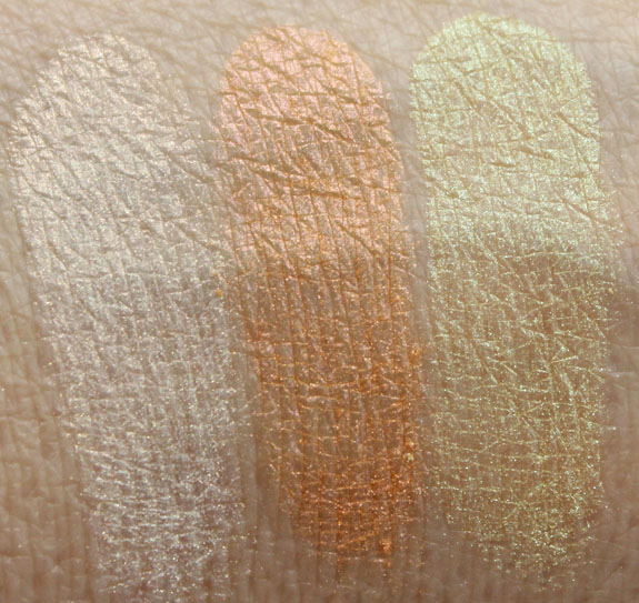 Naked Cosmetics Harvest Moon Swatches