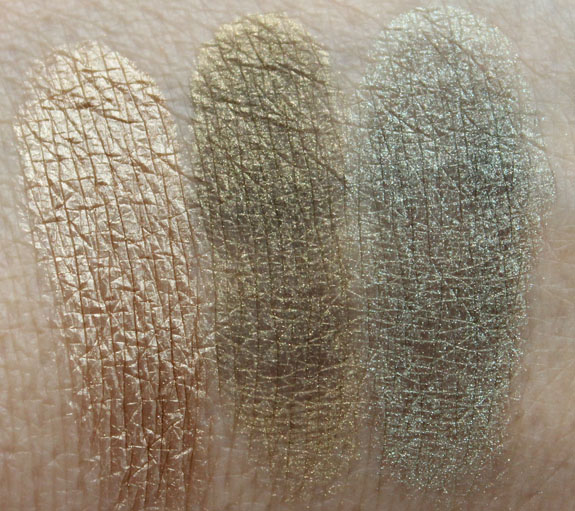 Naked Cosmetics Rain Forest Swatches 2