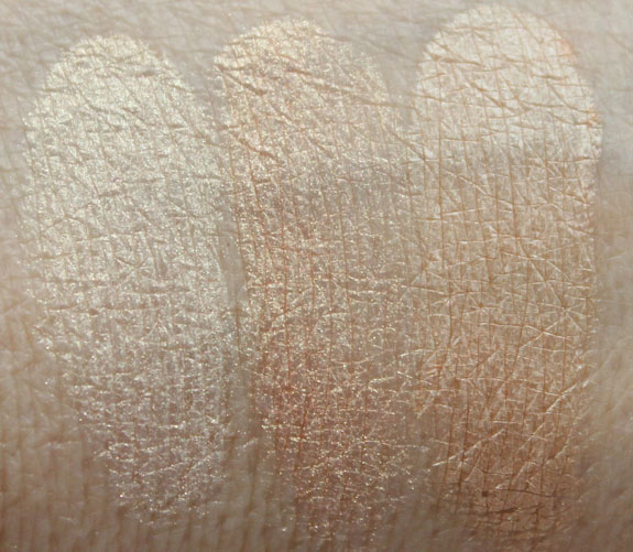 Naked Cosmetics Rain Forest Swatches