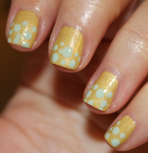 Zoya Piaf and Neely Dots 2