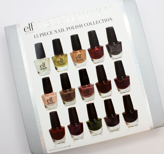elf Necessary Nails 15 Piece Nail Polish Collection for Holiday 2012 ...