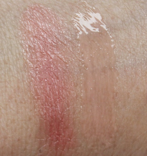 Aerin Lauder Sweet Pea and Pink Rose Swatches