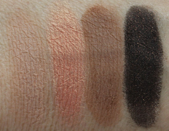 Anastasia Bold and Beautiful Kit Beautiful Eyes Swatches