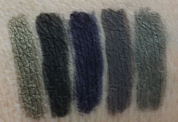 Anastasia Covet Waterproof Eyeliner Swatches