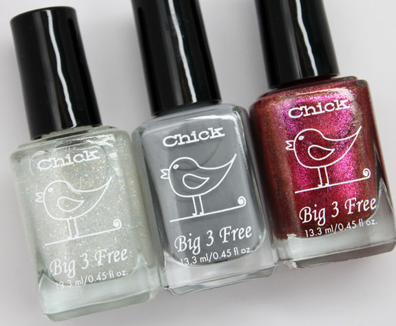 Chick Polish 2 Chick Polish for Spring 2013 Swatches & Review