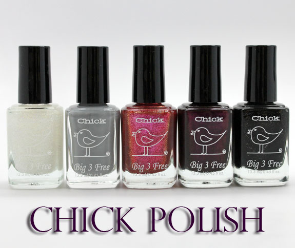 Chick Polish Chick Polish for Spring 2013 Swatches & Review
