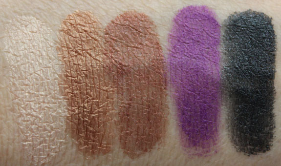 Estee Lauder Shadow Paints Swatches