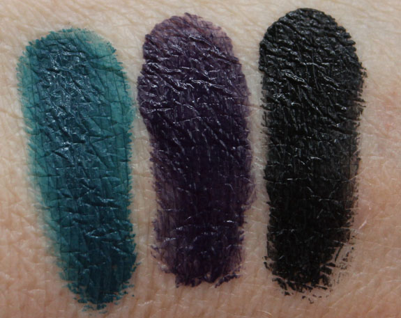 Laura Mercier Creme Eye Liner Canard Violet Noir Swatches Laura Mercier Arabesque Collection for Spring 2013 Swatches & Review
