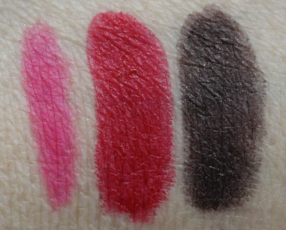MAC Embrace Me Absolute Power Firm Form Swatches