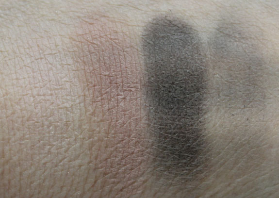 MAC Inner Strength Eye Shadow Quad Swatches