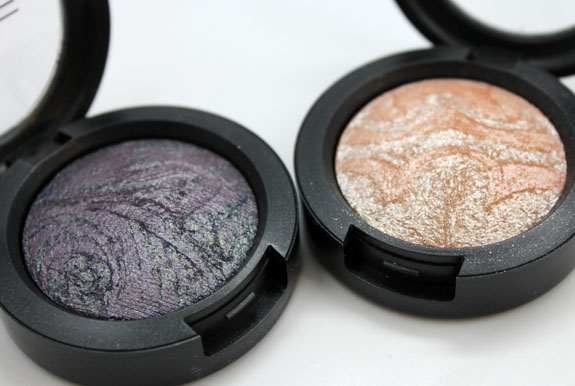 MAC Mineralize Eye Shadow Frost At Midnight Ice 2