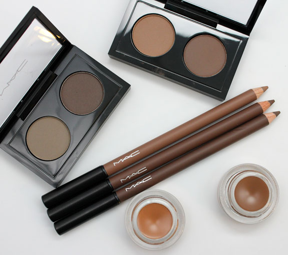 MAC The Stylish Brow 2 MAC The Stylish Brow Collection Swatches & Review