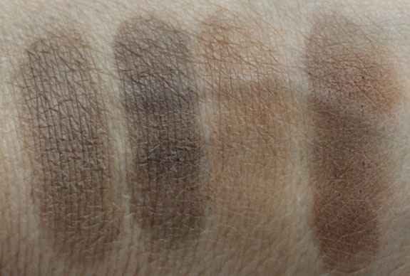 MAC The Stylish Brow Brow Duo Brunette Redhead Swatches