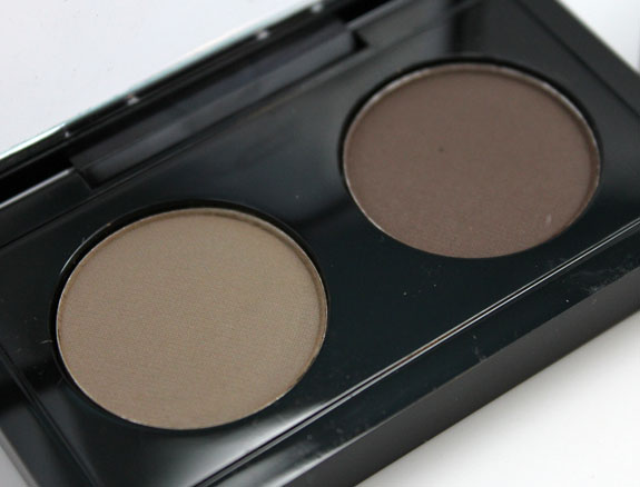 MAC The Stylish Brow Brow Duo Brunette MAC The Stylish Brow Collection Swatches & Review