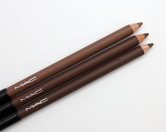 MAC The Stylish Brow Veluxe Brow Liner MAC The Stylish Brow Collection Swatches & Review