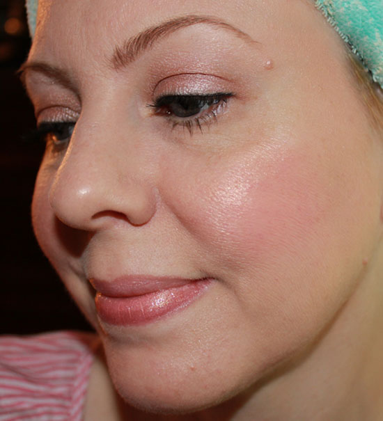 Me wearing Tarte BB Tinted Treatment in Light 2