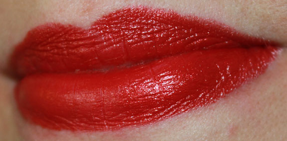 Milani Color Statement Lipstick Cherry Crave Swatch