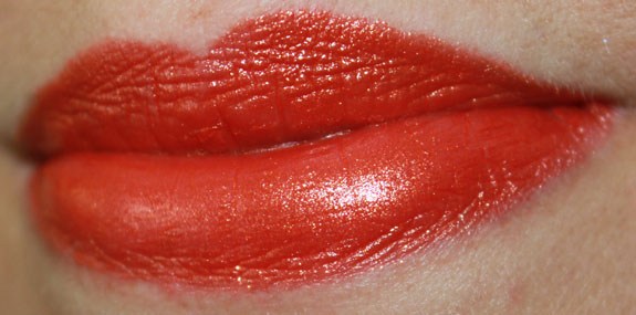 Milani Color Statement Lipstick Orange Gina Swatch