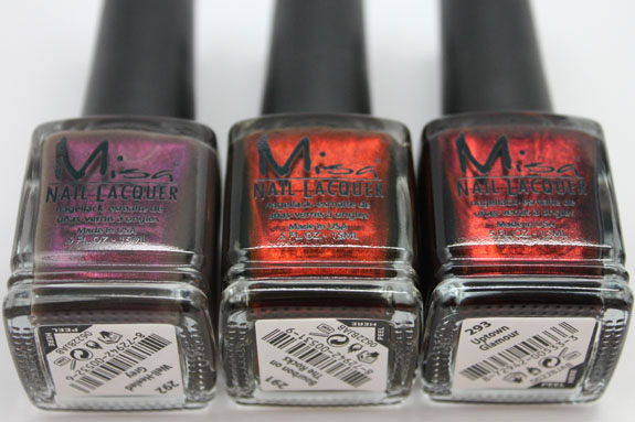 Misa High Society 2 Misa High Society for Winter 2012 Swatches, Review & Giveaway!