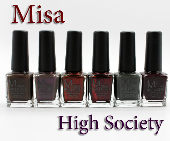 Misa High Society Misa High Society for Winter 2012 Swatches, Review & Giveaway!