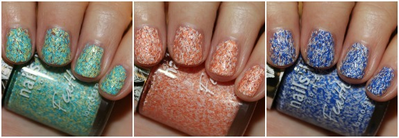 Nails Inc Feathers Collage