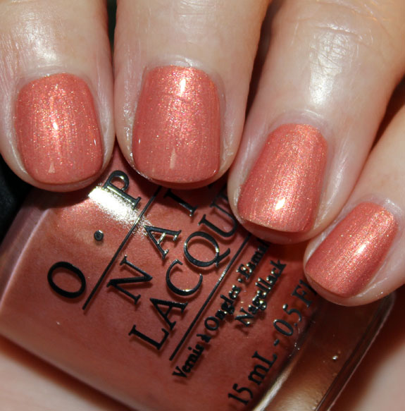 OPI Hands Off My Kielbasa OPI Euro Centrale Collection for Spring/Summer 2013 Swatches & Review