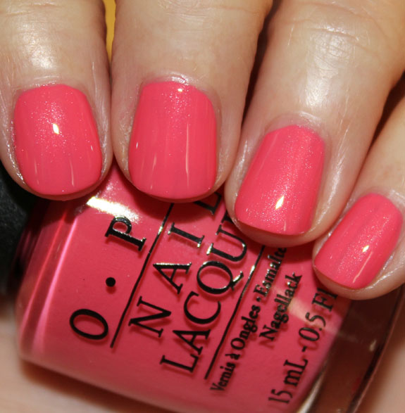 OPI Suzis Hungary Again OPI Euro Centrale Collection for Spring/Summer 2013 Swatches & Review