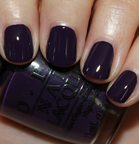OPI Vant To Bite My Neck OPI Euro Centrale Collection for Spring/Summer 2013 Swatches & Review