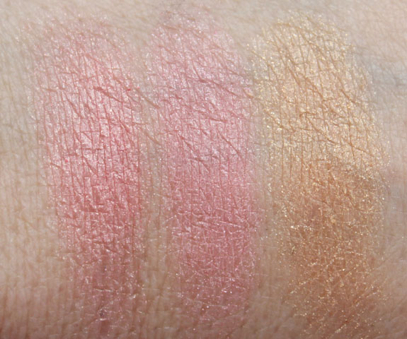 Physicians Formula Sexy Booster Sexy Glow Blush and Bronzer Swatches