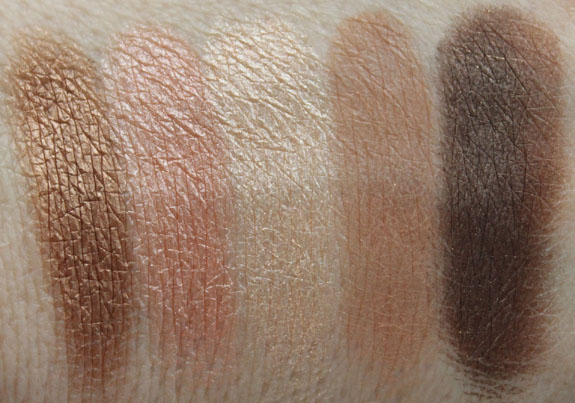 Smashbox Admire Me Eye Shadow Palette Swatches