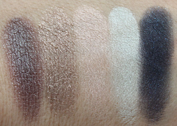 Smashbox Entice Me Eye Shadow Palette Swatches