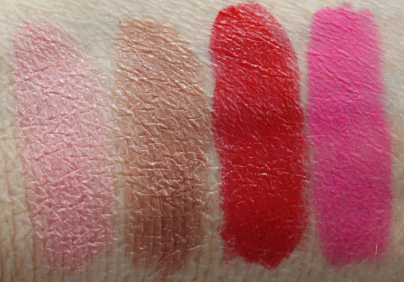 Topshop Lips and Lipstick Swatches