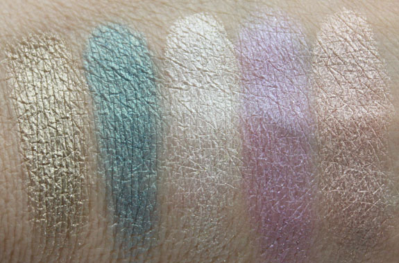 Urban Decay Ammo Palette Swatches 2