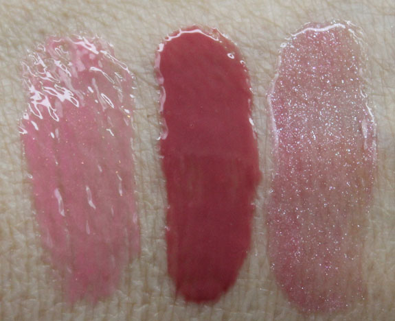 Urban Decay Lip Junkie Lipgloss Obsessed Flushed Trashed Swatches