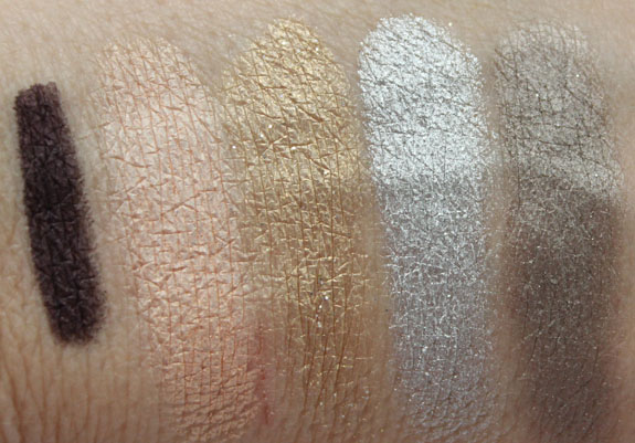Urban Decay The Glinda Palette Swatches 2