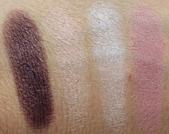 Urban Decay The Glinda Palette Swatches