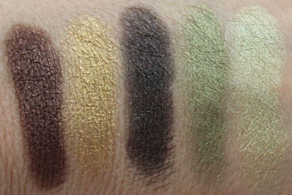 Urban Decay The Theodora Palette Swatches 2