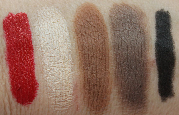 Urban Decay The Theodora Palette Swatches