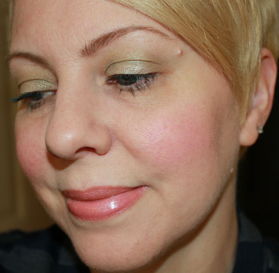 Wearing Make Up For Ever Pro Finish in 113 dry 2