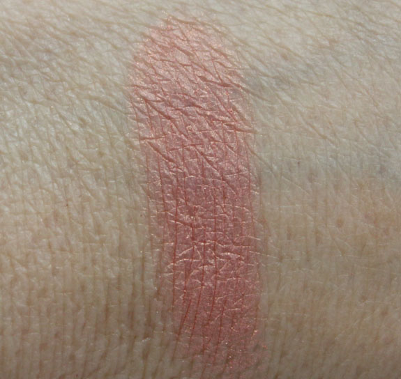 BareMinerals READY Blush The Natural High Swatch
