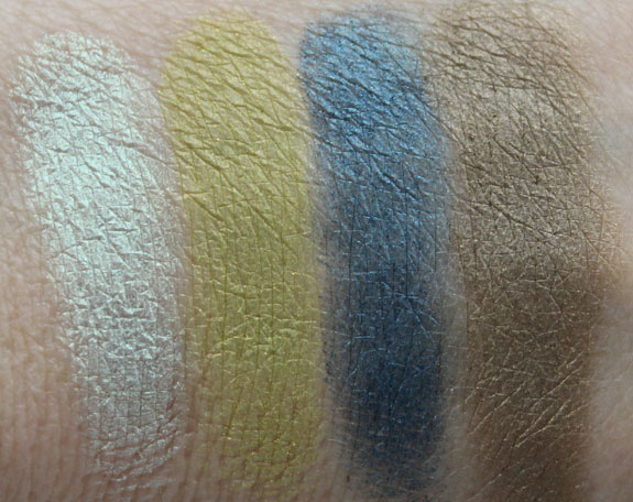 BareMinerals READY Eyeshadow 4 0 The Wild Thing Swatches