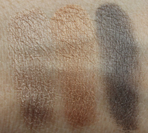 Benefit Creaseless Cream Shadow Swatches